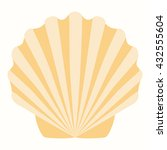 shells in pastel tones vector... | Shutterstock .eps vector #432555604