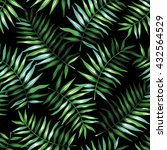 tropical seamless pattern with... | Shutterstock .eps vector #432564529