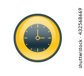 vector illustration of clock...