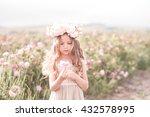 cute baby girl 4 5 year old...   Shutterstock . vector #432578995