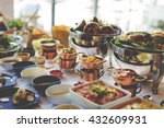 food catering cuisine culinary... | Shutterstock . vector #432609931