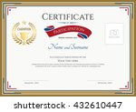 certificate of participation... | Shutterstock .eps vector #432610447