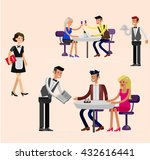vector detailed character... | Shutterstock .eps vector #432616441