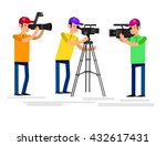 cool detailed character... | Shutterstock .eps vector #432617431