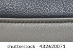 leather car upholstery  beige... | Shutterstock . vector #432620071
