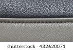 leather car upholstery  beige... | Shutterstock . vector #432620071