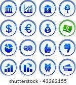 money  button set. vector... | Shutterstock .eps vector #43262155