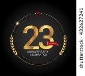 23 Golden Anniversary Logo Wit...