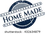 home made rubber seal with... | Shutterstock .eps vector #432634879