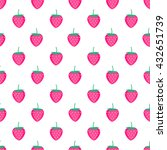 seamless background with pink... | Shutterstock .eps vector #432651739