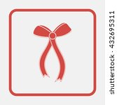 ribbon bow illustration.