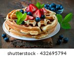Belgian Waffles With...