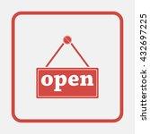 open icon. | Shutterstock .eps vector #432697225