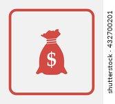 money bag icon.
