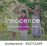 innocence naive innocent kids...   Shutterstock . vector #432711349