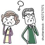 illustration material  elderly... | Shutterstock .eps vector #432717571