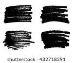 vector marker stains.grunge... | Shutterstock .eps vector #432718291