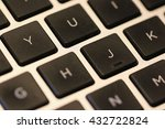closeup keyboard for laptop | Shutterstock . vector #432722824