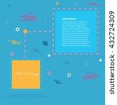 abstract concept vector empty... | Shutterstock .eps vector #432724309