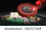 3d Rendering Roulette Table ...