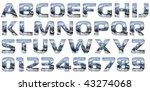 Chrome Cast Alphabet Set ...