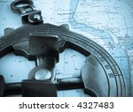 astrolabe on top of a...   Shutterstock . vector #4327483