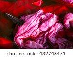 process tie dye abstract swirl... | Shutterstock . vector #432748471