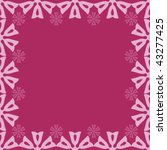 abstract seamless frame | Shutterstock .eps vector #43277425
