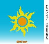 sun icon. sun icon vector. sun...