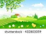 vector cartoon illustration of... | Shutterstock .eps vector #432803359