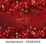 christmas background with... | Shutterstock .eps vector #43281043
