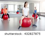 fitness  sport  training and... | Shutterstock . vector #432827875