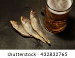 Beer And Dried Fish. Russian...