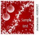 christmas background | Shutterstock . vector #43283917