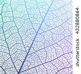 leaf vector texture pattern.  | Shutterstock .eps vector #432880864