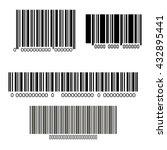 bars code design  | Shutterstock .eps vector #432895441