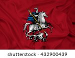 waving flag of moscow | Shutterstock . vector #432900439