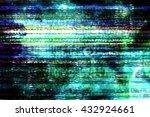 tv static | Shutterstock . vector #432924661