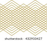 stripes and zig zag aztec... | Shutterstock .eps vector #432933427
