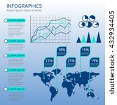 infographics template with...   Shutterstock .eps vector #432934405