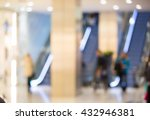 shopping centre blurred... | Shutterstock . vector #432946381