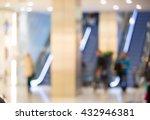 shopping centre blurred... | Shutterstock . vector #432946381