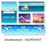 variations transport of travel... | Shutterstock .eps vector #432954457