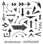 vector set of various arrows... | Shutterstock .eps vector #432961465