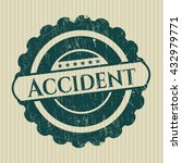 accident rubber stamp | Shutterstock .eps vector #432979771