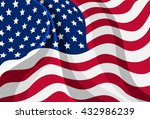 vector illustration of the flag ... | Shutterstock .eps vector #432986239