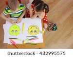 the development of emotional... | Shutterstock . vector #432995575