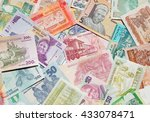 variety of the african banknotes | Shutterstock . vector #433078471