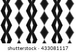 abstract geometric ornament.... | Shutterstock . vector #433081117