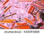 sappan tree  caesalpinia sappan ... | Shutterstock . vector #433093885